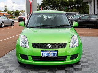 2010 Suzuki Swift RS415 S Green 5 Speed Manual Hatchback.
