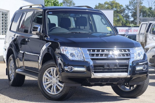 New Mitsubishi Pajero NX MY21 GLX Cardiff, 2020 Mitsubishi Pajero NX MY21 GLX Pitch Black 5 Speed Sports Automatic Wagon