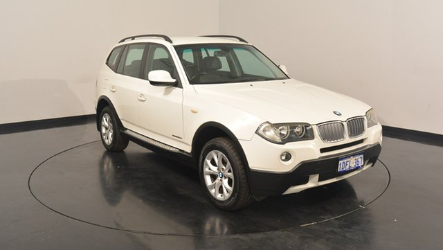 Used BMW X3 E83 MY0909 xDrive20d Steptronic Lifestyle, 2009 BMW X3 E83 MY0909 xDrive20d Steptronic Lifestyle White 6 Speed Automatic Wagon