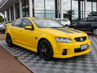 2010 Holden Commodore VE II SS V Redline Yellow 6 Speed Sports Automatic Sedan.