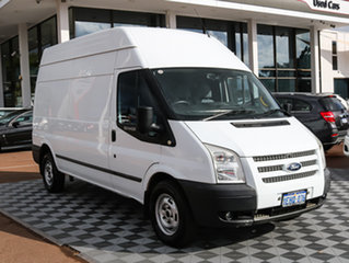 2011 Ford Transit VM 350 High Roof LWB White 6 Speed Manual Van.