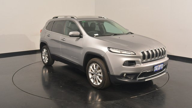Used Jeep Cherokee KL MY15 Limited, 2015 Jeep Cherokee KL MY15 Limited Dark Grey 9 Speed Sports Automatic Wagon