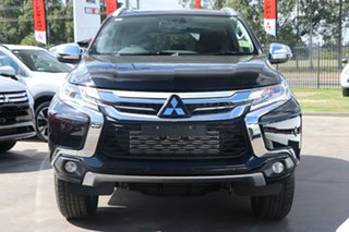2018 Mitsubishi Pajero Sport QE MY18 GLS Pitch Black 8 Speed Sports Automatic Wagon