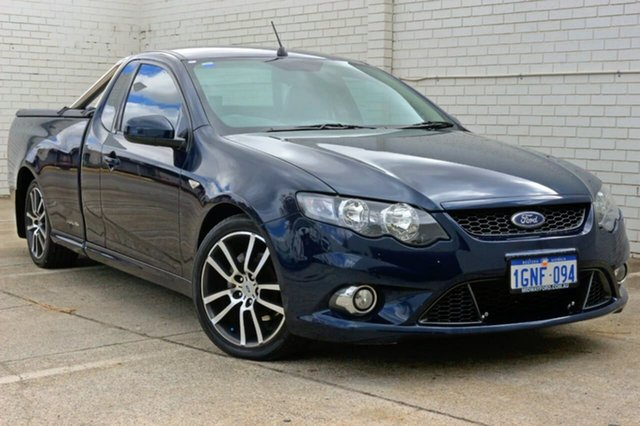 Used Ford Falcon FG XR6 Ute Super Cab Limited Edition, 2011 Ford Falcon FG XR6 Ute Super Cab Limited Edition Blue 6 Speed Sports Automatic Utility