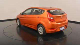 2016 Hyundai Accent RB3 MY16 Active Orange 6 Speed Constant Variable Hatchback.