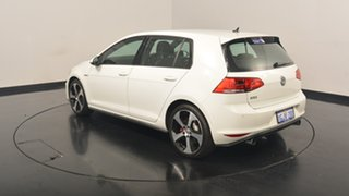 2017 Volkswagen Golf VII MY17 GTI DSG Pure White 6 Speed Sports Automatic Dual Clutch Hatchback.