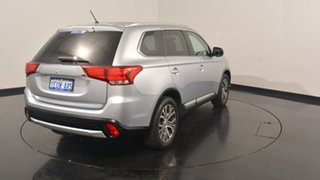 2015 Mitsubishi Outlander ZK MY16 LS 2WD Cool Silver 6 Speed Constant Variable Wagon