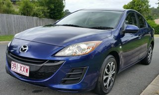 2009 Mazda 3 BL10F1 Neo Activematic Blue 5 Speed Sports Automatic Sedan.
