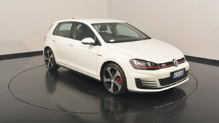 2017 Volkswagen Golf VII MY17 GTI DSG Pure White 6 Speed Sports Automatic Dual Clutch Hatchback