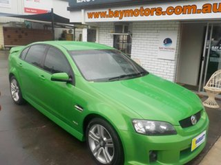 2010 Holden Commodore VE II SV6 Green 6 Speed Automatic Sedan.