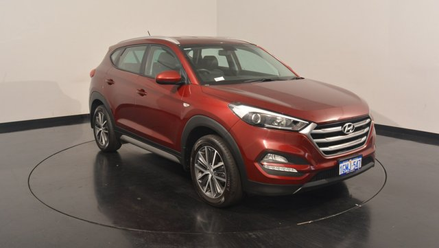 Used Hyundai Tucson TL MY17 Active X 2WD, 2016 Hyundai Tucson TL MY17 Active X 2WD Ruby Wine 6 Speed Sports Automatic Wagon