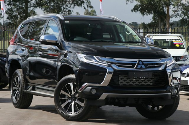 New Mitsubishi Pajero Sport QE MY18 GLS, 2018 Mitsubishi Pajero Sport QE MY18 GLS Pitch Black 8 Speed Sports Automatic Wagon