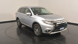 2017 Mitsubishi Outlander ZK MY17 LS 4WD Cool Silver 6 Speed Constant Variable Wagon.