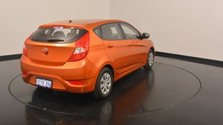 2016 Hyundai Accent RB3 MY16 Active Orange 6 Speed Constant Variable Hatchback