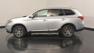 2015 Mitsubishi Outlander ZK MY16 LS 2WD Cool Silver 6 Speed Constant Variable Wagon.