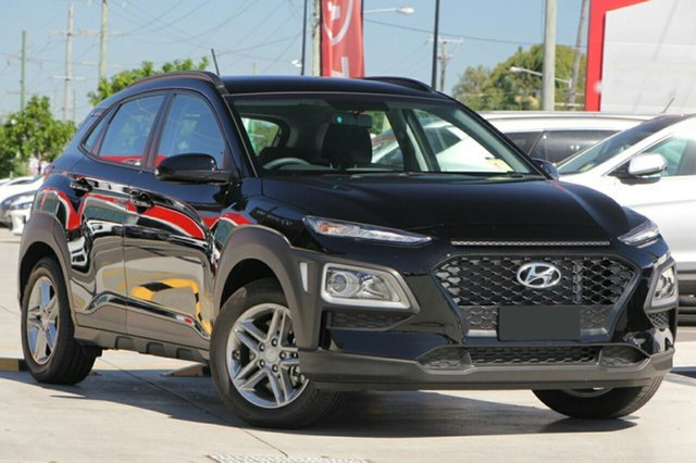 New Hyundai Kona OS MY18 Active D-CT AWD, 2017 Hyundai Kona OS MY18 Active D-CT AWD Phantom Black Pearl 7 Speed Sports Automatic Dual Clutch