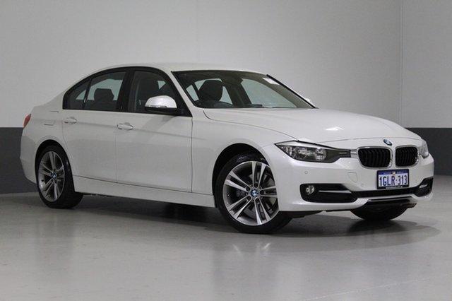 Used BMW 320D F30 MY14 Upgrade Sport Line, 2014 BMW 320D F30 MY14 Upgrade Sport Line White 8 Speed Automatic Sedan