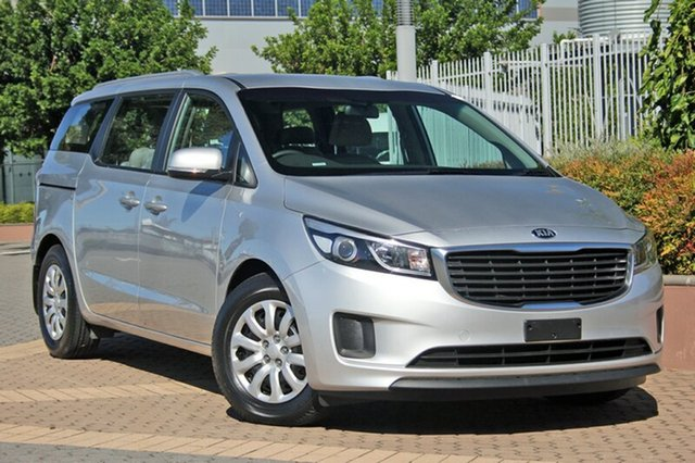 Used Kia Carnival YP MY16 S, 2016 Kia Carnival YP MY16 S Silver 6 Speed Sports Automatic Wagon