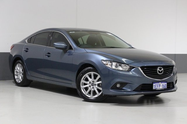 Used Mazda 6 6C Sport, 2013 Mazda 6 6C Sport Blue 6 Speed Automatic Sedan
