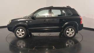 2008 Hyundai Tucson JM MY09 City Elite Black 4 Speed Sports Automatic Wagon.