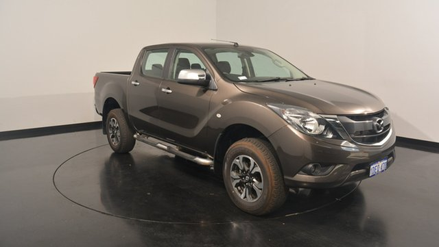 Used Mazda BT-50 UR0YG1 XTR, 2017 Mazda BT-50 UR0YG1 XTR Bronze 6 Speed Sports Automatic Utility