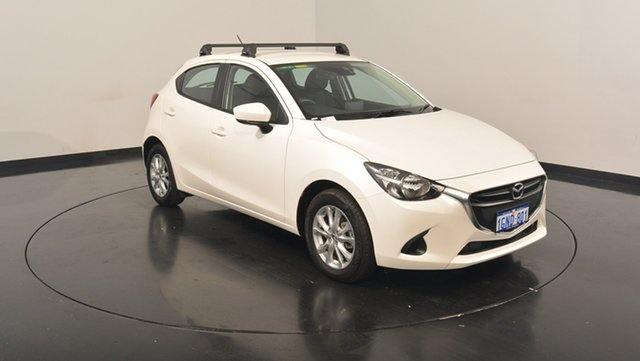 Used Mazda 2 DJ2HA6 Maxx SKYACTIV-MT, 2017 Mazda 2 DJ2HA6 Maxx SKYACTIV-MT White 6 Speed Manual Hatchback