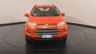 2014 Ford Ecosport BK Trend PwrShift Red 6 Speed Sports Automatic Dual Clutch Wagon