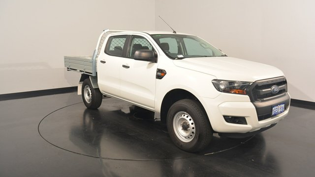 Used Ford Ranger PX MkII XL Double Cab 4x2 Hi-Rider, 2016 Ford Ranger PX MkII XL Double Cab 4x2 Hi-Rider Cool White 6 Speed Manual Utility