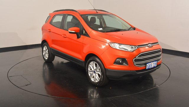 Used Ford Ecosport BK Trend PwrShift, 2014 Ford Ecosport BK Trend PwrShift Red 6 Speed Sports Automatic Dual Clutch Wagon