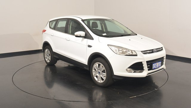 Used Ford Kuga TF MY15 Ambiente 2WD, 2015 Ford Kuga TF MY15 Ambiente 2WD White 6 Speed Sports Automatic Wagon