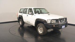 2013 Nissan Patrol Y61 GU 9 DX White 5 Speed Manual Wagon.