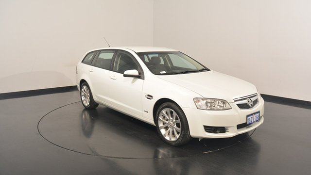 Used Holden Berlina VE II International Sportwagon, 2010 Holden Berlina VE II International Sportwagon White 6 Speed Sports Automatic Wagon