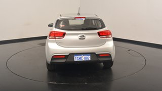 2017 Kia Rio YB MY17 S Silky Silver 4 Speed Sports Automatic Hatchback