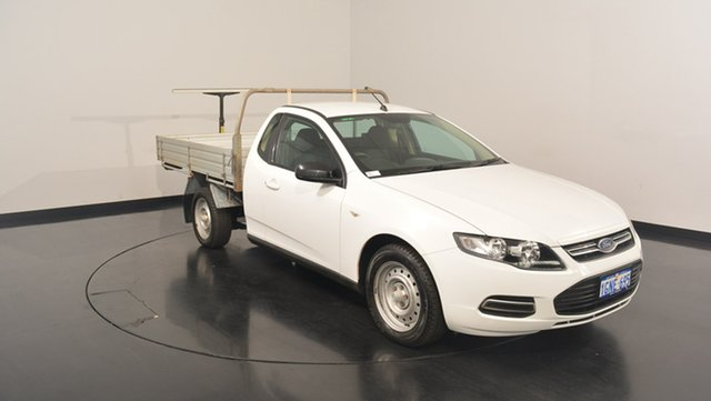 Used Ford Falcon FG MkII Super Cab, 2014 Ford Falcon FG MkII Super Cab White 6 Speed Sports Automatic Cab Chassis