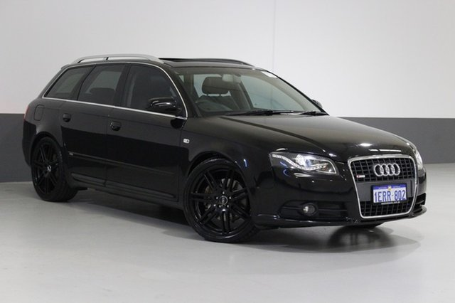 Used Audi A4 B7 MY06 Upgrade 2.0 TFSI Quattro Avant, 2006 Audi A4 B7 MY06 Upgrade 2.0 TFSI Quattro Avant Black 6 Speed Tiptronic Wagon
