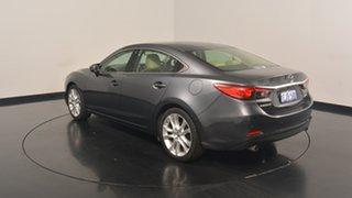 2013 Mazda 6 GJ1031 Atenza SKYACTIV-Drive Grey 6 Speed Sports Automatic Sedan.