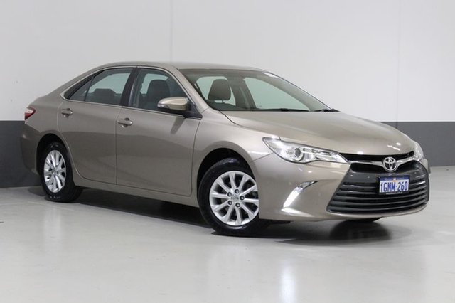 Used Toyota Camry ASV50R MY16 Altise, 2016 Toyota Camry ASV50R MY16 Altise Brown 6 Speed Automatic Sedan