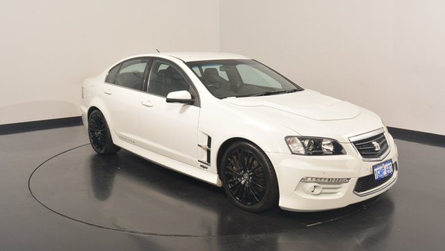 Used Holden Special Vehicles Senator E Series 3 MY12 Signature, 2012 Holden Special Vehicles Senator E Series 3 MY12 Signature White 6 Speed Sports Automatic Sedan