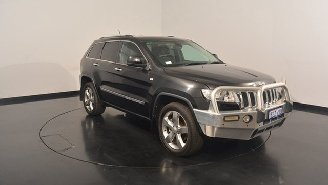 Used Jeep Grand Cherokee WK MY2013 Limited, 2013 Jeep Grand Cherokee WK MY2013 Limited Brilliant Black 5 Speed Sports Automatic Wagon