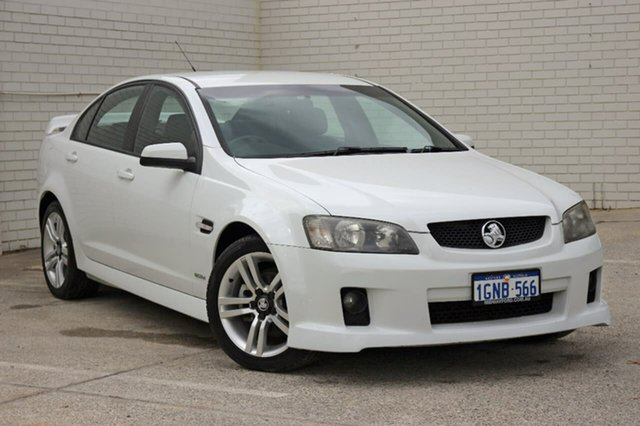 Used Holden Commodore VE MY10 SV6, 2010 Holden Commodore VE MY10 SV6 White 6 Speed Sports Automatic Sedan