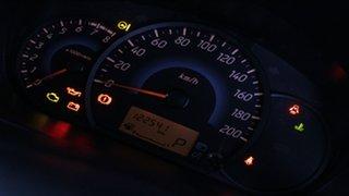 2013 Mitsubishi Mirage LA MY14 ES Purple 1 Speed Constant Variable Hatchback