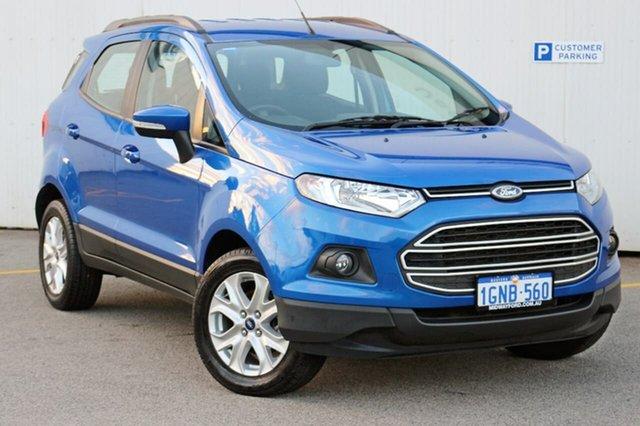 Used Ford Ecosport BK Trend PwrShift, 2016 Ford Ecosport BK Trend PwrShift Blue 6 Speed Sports Automatic Dual Clutch Wagon
