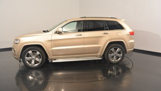 2014 Jeep Grand Cherokee WK MY15 Overland Gold 8 Speed Sports Automatic Wagon.