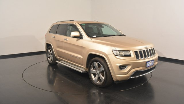 Used Jeep Grand Cherokee WK MY15 Overland, 2014 Jeep Grand Cherokee WK MY15 Overland Gold 8 Speed Sports Automatic Wagon