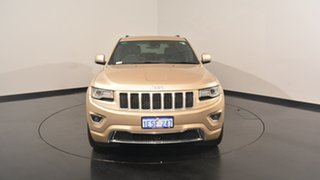 2014 Jeep Grand Cherokee WK MY15 Overland Gold 8 Speed Sports Automatic Wagon