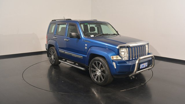 Used Jeep Cherokee KK MY10 Sport, 2010 Jeep Cherokee KK MY10 Sport Blue 4 Speed Automatic Wagon
