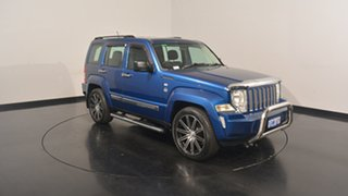 2010 Jeep Cherokee KK MY10 Sport Blue 4 Speed Automatic Wagon