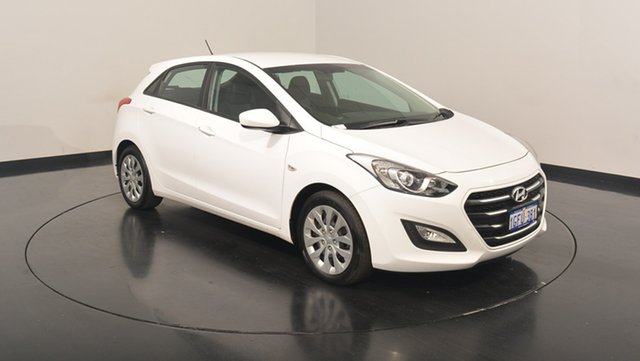 Used Hyundai i30  Active, 2017 Hyundai i30 GD4 Series II M Active Polar White 6 Speed Sports Automatic Hatchback