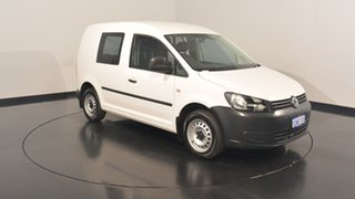 2014 Volkswagen Caddy 2KN MY14 TDI250 SWB DSG White 7 Speed Sports Automatic Dual Clutch Van