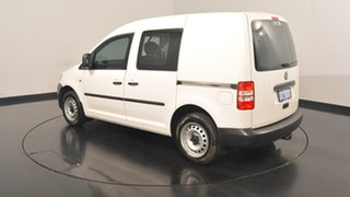 2014 Volkswagen Caddy 2KN MY14 TDI250 SWB DSG White 7 Speed Sports Automatic Dual Clutch Van.
